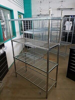 Mantova Wire Shelf Cool Room Shelving 1800H x 1500L x 450W