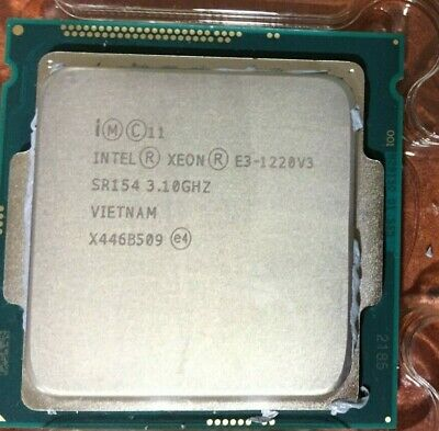 Intel Xeon E3-1220v3 3.10GHz SR145 Processor