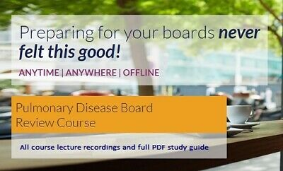 Pulmonary Disease Board Review Course 2018 (The Passmachine)