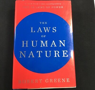 The Laws of Human Nature by Greene, Robert - Hardcover Very Good Condition