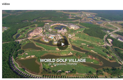 Stunning Time Share at World Golf Village /Golf Hall of Fame in St Augustine, FL