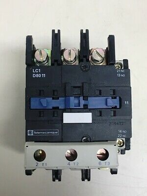**NEW** Telemecanique	LC1D8011 , Contactor with 110V 50/60Hz Coil