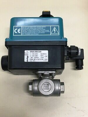 **NEW** InterApp ER20.X0B.G00 ,Electric 90° Rotary Actuator With Manual Override