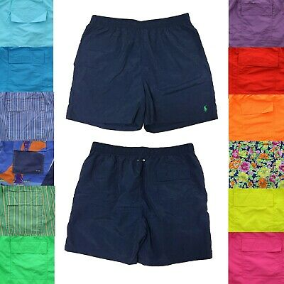04400588b1 POLO RALPH LAUREN Mens Big and Tall Logo Swimsuit Shorts Lined Swim ...