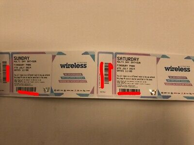 Wwireless Tickets 2019 - Saturday and Sunday (Real/Genuine Tickets)