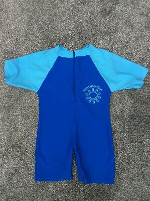 Water Kids Summer Fun UV Sun Protection All In One Swimming Suit 12-18 Months