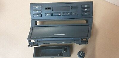 Bmw E46 3 Series Tv Sat Nav Double Din Climate Control Relocation Unit Ashtray
