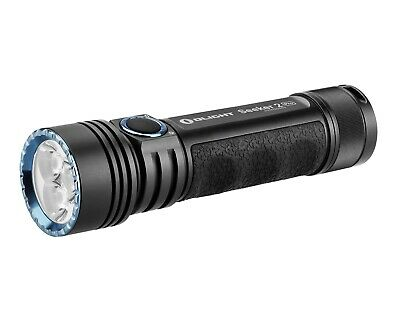 LED Flashlight Olight Seeker 2 Pro 3200 Lumen Rechargeable Charger Black New