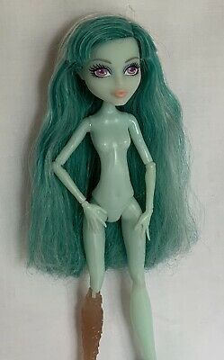 Monster High Doll Fab Vandala Doubloons Nude Doll Ooak Re-dress