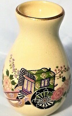 OLD SATSUMA VASE VINTAGE from JAPAN FABULOUS DISPLAY for a small vase