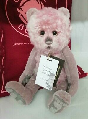 SPECIAL OFFER! Charlie Bears Isabelle Mohair BUBBLEGUM (No 159/350 ) RRP £150