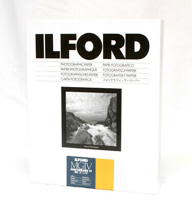 """Ilford Deluxe MGRC Satin 3½""""x5"""" (8.9x12.7cm) 100 Sheets"""