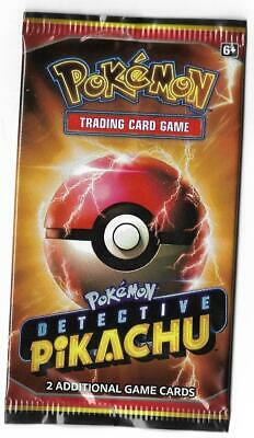 Limited Ed. Rare Detective Pikachu Movie Promo 2 Card Pack Pokemon New Sealed