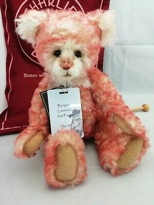 SPECIAL OFFER! Charlie Bears Isabelle Mohair BERGMAN Number 90/400 (RRP £150)