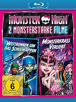 Monster High: Friday Night Frights/Why Do Ghouls Fall In Love? [Blu-ray] [DVD]