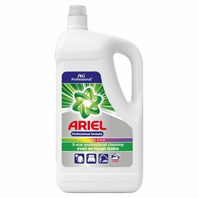 Ariel Colour Washing Liquid Detergent Professional Formula 5L 100 Wash