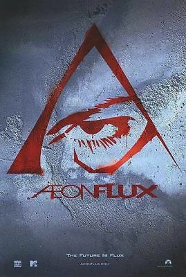 AEON FLUX Charlize Theron Original MTV Single Sided Rolled 27x40 Movie Poster -B