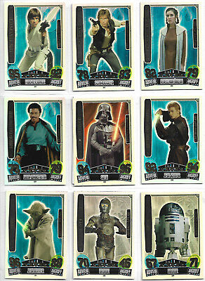 0Star Wars Force Attax Saga : Movies Three 10 Limited Edition Promo Set GERMANY