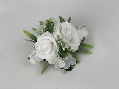 936030c17 wedding bouquets rose gold ivory brides flowers posy bridesmaid flower girl  wand. $4.45 Buy It Now 26d 3h. See Details. Wrist Corsage on bracelet  Weddings ...
