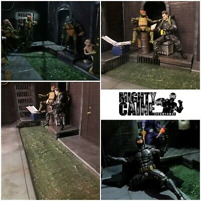 CUSTOM SILICONE WATER Effect for Action Figure diorama  Neca ,Marvel legends