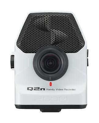ZOOM Handy Video Recorder Q2n/W White Built-In XY Mic Japan New
