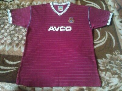 51a6becaa07 RARE FOOTBALL SHIRT - West Ham United Home Retro 1986 Size Xl ...