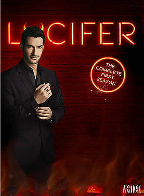 Lucifer TV Series The Complete 1st First Season 1 One BRAND NEW 3-DISC DVD SET