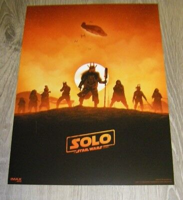 Solo A Star Wars Story AMC Exclusive IMAX Poster Week 2
