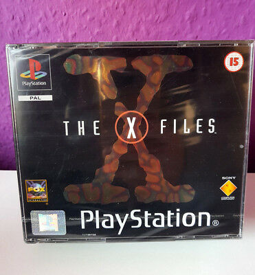 PS1 The X-Files sealed / new / neu / neuf - Playstation 1