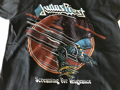 Vintage Judas Priest Screaming for Vengeance tour t-shirt original 1982 mint