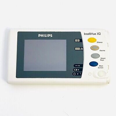 Philips IntelliVue X2 Front Display LCD Screen & Bezel Assembly Fully Tested.