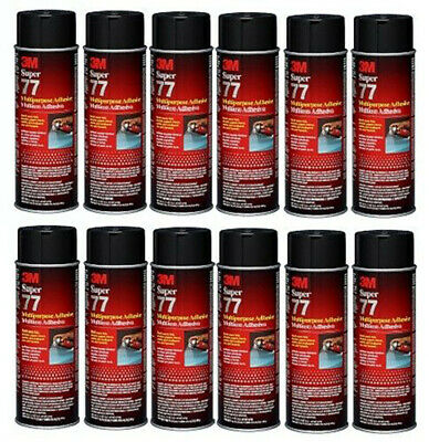 3M Super 77 Spray 16.75 oz. Case of 12 Cans