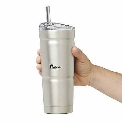 24 oz Vacuum Insulated Tumbler Travel Bottle with Straw Ice Cold Water Beverages