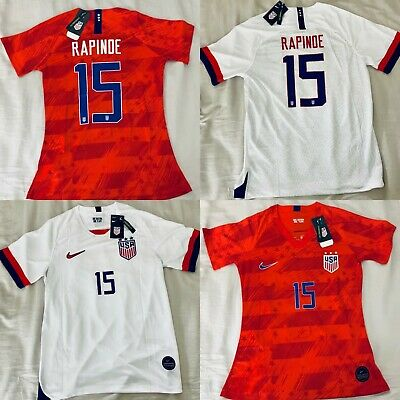 9f6032e7d42 2019 NIKE Authentic MEGAN RAPINOE #15 USWNT World Cup USA Soccer Jersey NWT