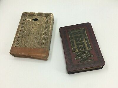 Vintage Antique Money Box Bankers Utilities USA Patented 3 July 1923