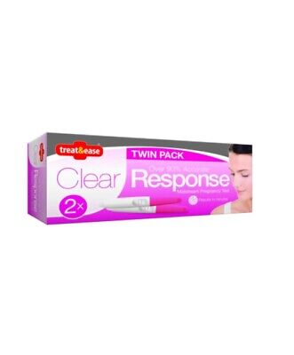 Pregnancy Test Kit - Midstream - Results In Minutes - Fast & Easy - Pack of 2