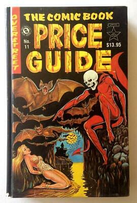 Overstreet Comic Book Price Guide 11th Edition Hardcover 1981 F+ Nice Copy