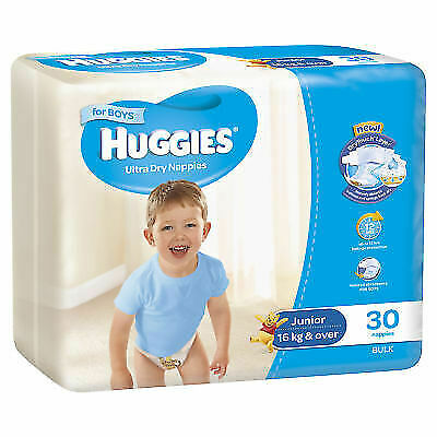HUGGIES Junior 16 kg & over for Boys 30 Bulk
