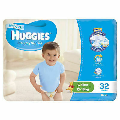 HUGGIES Walker 32pk