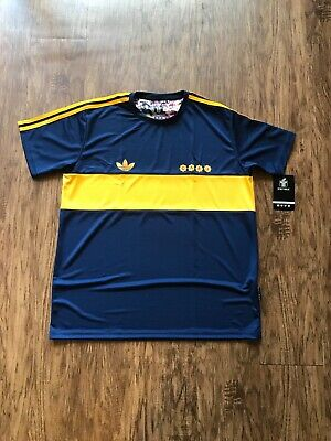 ac3a3a39e6d BOCA JUNIORS JERSEY 1981 Diego Maradona brand New REPLICA (medium ...