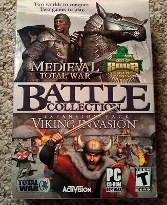 MEDIEVAL TOTAL WAR - The Battle Collection Pc Game! W/Key