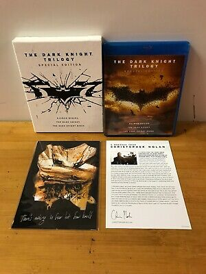 The Dark Knight Trilogy (Blu-ray Disc, 2016, Special Edition)