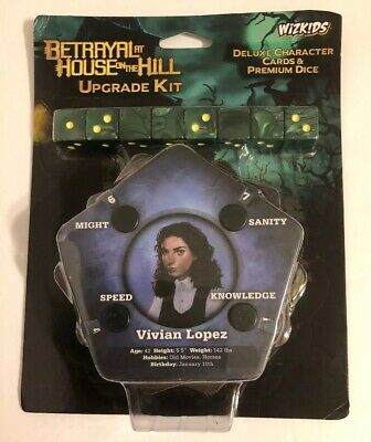 Betrayal At House on the Hill Board Game Upgrade Kit by Wizkids WZK73048