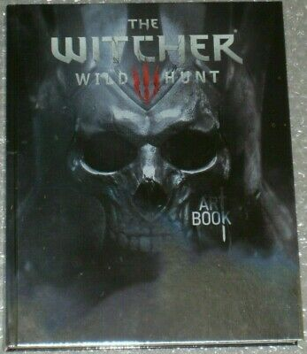 The Witcher 3 Wild Hunt Collectors Edition Art Book *VERY RARE* Like New