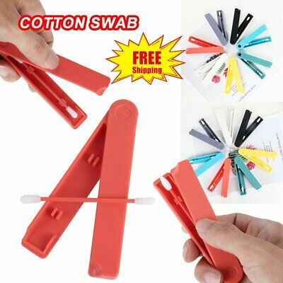 Reusable Cotton Swab Ear Cleaning Cosmetic Cotton Buds Silicone Swabs NW
