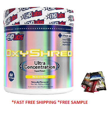Ehplabs Oxyshred 60 Serves Pink Grapefruit Flavour Ehp Labs Oxy Shred Burner