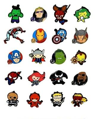 Marvel Captain America 5 Themed Disney Park Assortred Trading Pins Set ~ NEW