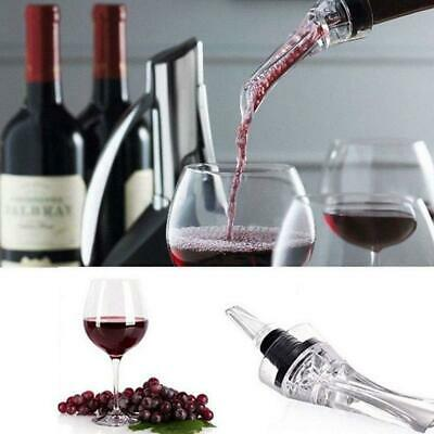 Useful Premium Red Wine-Acrylic Aerator Pour Spout Bottle Pourer Decanter Hotel