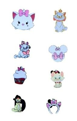 Aristocats Marie 5 Disney Park Trading Pins Assorted Starter Set ~ Brand NEW