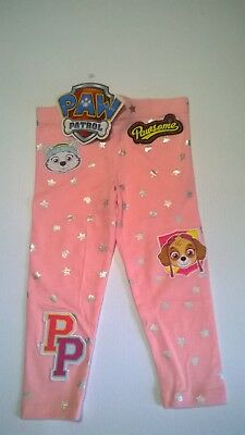 Paw Patrol / Leggings / Girls / Sizes 2, 3, 4, 5 And 6.
